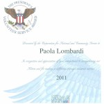 2011 Presidential Volunteer Award