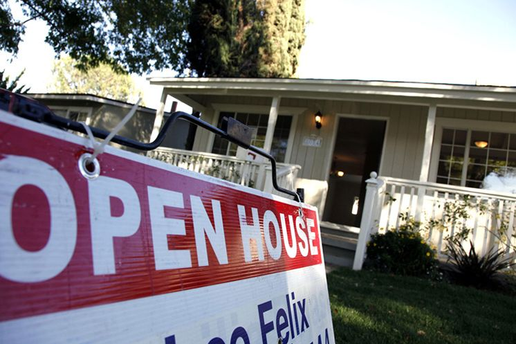A sign announces an open house for home sale in Los Angeles. Home sales across the country sped up last month to their quickest pace since November 2009. In Tampa Bay, home sales have steadily grown since the housing bust, surging dramatically since January 2008, when barely 1,000 homes sold.